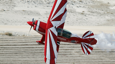 TC-MAU - Pitts S-2B Special - Scarlet Rose