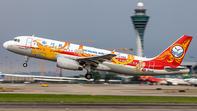 A picture of B6388 - Airbus A320232 - Sichuan Airlines - © 308094036