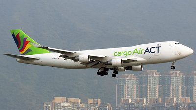 TC-MCT - Boeing 747-412F(SCD) - ACT Airlines