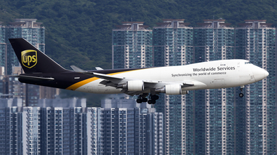 N580UP - Boeing 747-428F(SCD) - United Parcel Service (UPS)