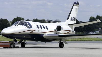 N117MA - Cessna 501 Citation SP - Private