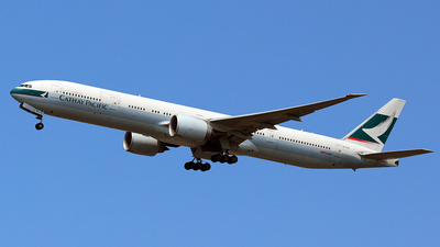B-KQL - Boeing 777-367ER - Cathay Pacific Airways