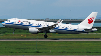 A picture of B1686 - Airbus A320214 - Air China - © Take-off YNT 2020
