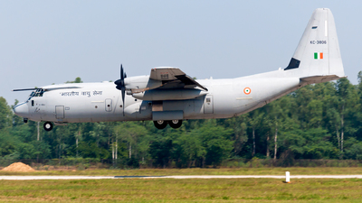 KC3806 - Lockheed Martin C-130J-30 Hercules - India - Air Force