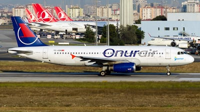 TC-ODB - Airbus A320-232 - Onur Air