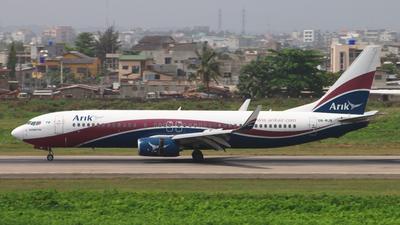 5N-MJN - Boeing 737-86N - Arik Air