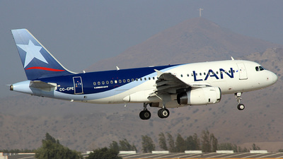 CC-CPE - Airbus A319-132 - LAN Airlines