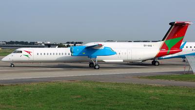 A picture of 5YVVO - De Havilland Canada Dash 8400 - Bluebird Aviation - © Jeroen Stroes