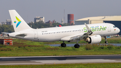 A4O-OVD - Airbus A320-251N - SalamAir