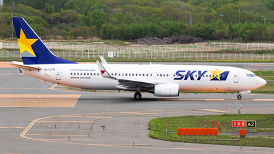 JA737R - Boeing 737-86N - Skymark Airlines