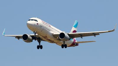 A picture of DAEWJ - Airbus A320214 - Eurowings - © Javier Rodriguez - Amics de Son Sant Joan