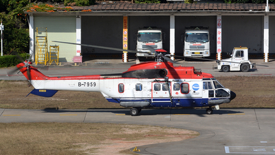 B-7959 - Eurocopter AS 332L Super Puma - China Offshore Helicopter Service Corporation (COHC)