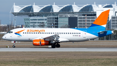 RA-89120 - Sukhoi Superjet 100-95B - Azimuth Airlines