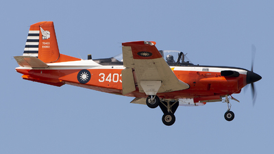 3403 - Beechcraft T-34C Turbo Mentor - Taiwan - Air Force