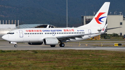 A picture of B5820 - Boeing 73779P - China Eastern Airlines - © guweishi