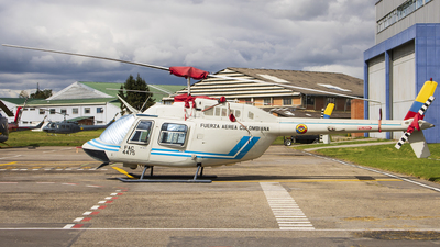 FAC4475 - Bell 206B JetRanger III - Colombia - Air Force