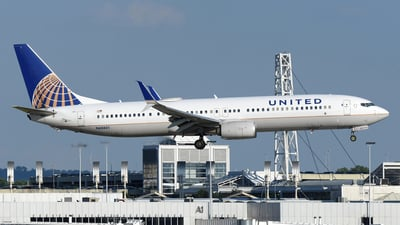 A picture of N68801 - Boeing 737924(ER) - United Airlines - © DJ Reed - OPShots Photo Team