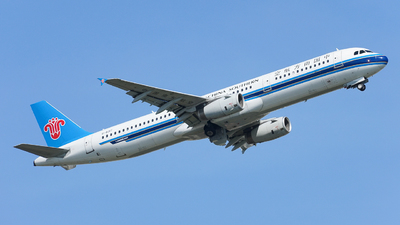 A picture of B6317 - Airbus A321231 - China Southern Airlines - © huanglongtao