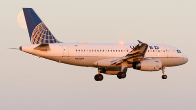 N833UA - Airbus A319-131 - United Airlines