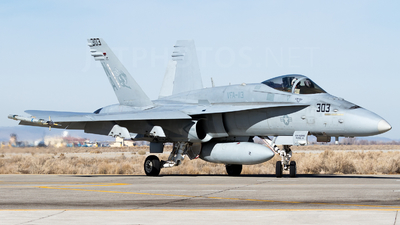 164660 - McDonnell Douglas F/A-18C Hornet - United States - US Navy (USN)