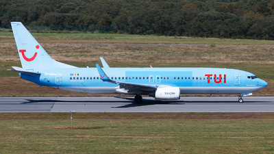 A picture of OOJBG - Boeing 7378K5 - TUI fly - © Alexis Boidron
