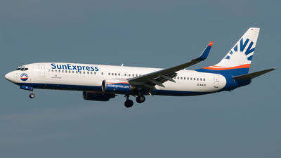 D-ASXI - Boeing 737-8CX - SunExpress Germany