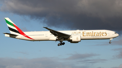 A picture of A6EGU - Boeing 77731H(ER) - Emirates - © Mark de Bruijn