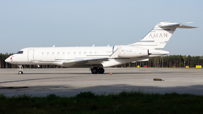 9H-AMN - Bombardier BD-700-1A11 Global 5000 - Emperor Aviation