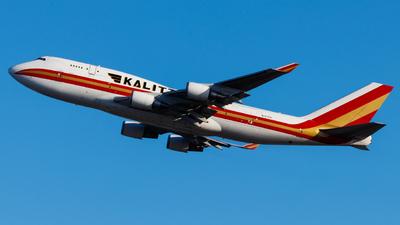 A picture of N741CK - Boeing 7474H6(BCF) - Kalitta Air - © Thomas Tse
