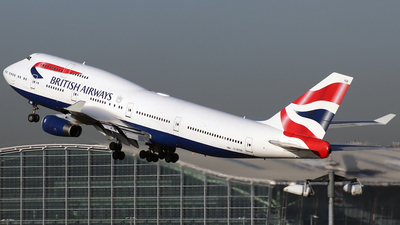 G-BYGB - Boeing 747-436 - British Airways