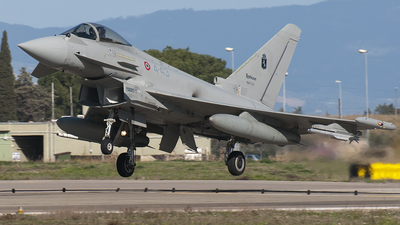 MM7317 - Eurofighter Typhoon EF2000 - Italy - Air Force