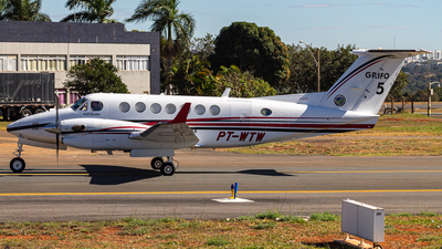 PT-WTW - Beechcraft B300 King Air 350 - Brazil - Government of Goias State