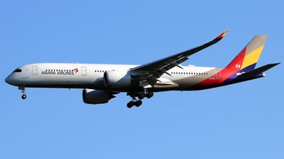 HL8360 - Airbus A350-941 - Asiana Airlines