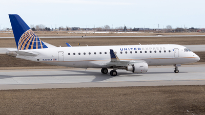 N207SY - Embraer 170-200LR - United Express (SkyWest Airlines)