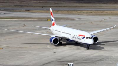 bb25700ec857 G-ZBKP - Boeing 787-9 Dreamliner - British Airways - Flightradar24