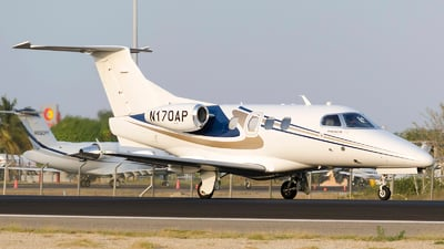 A picture of N170AP - Embraer Phenom 100 - [50000170] - © Gustavo Zapata