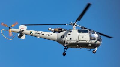 41 - Aérospatiale SA 319B Alouette III - Pakistan - Navy
