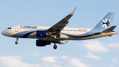 XA-MBA - Airbus A320-214 - Interjet