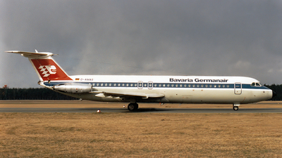 D-AMAS - British Aircraft Corporation BAC 1-11 Series 515FB - Bavaria Germanair