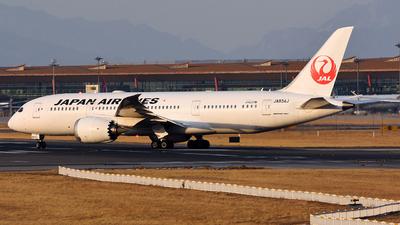 JA834J - Boeing 787-8 Dreamliner - Japan Airlines (JAL)