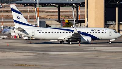 A picture of 4XEKB - Boeing 737858 - El Al - © Richi_Aviations