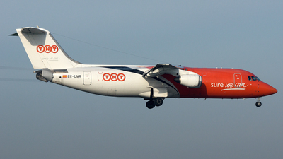 EC-LMR - British Aerospace BAe 146-300(QT) - TNT Airways (Pan Air Líneas Aéreas)