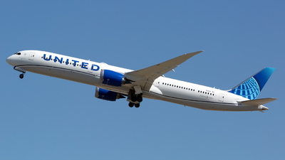 A picture of N12010 - Boeing 78710 Dreamliner - United Airlines - © Chris Pitchacaren