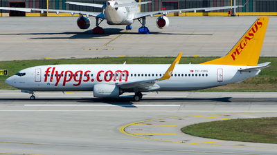A picture of TCCRG - Boeing 73782R - Pegasus Airlines - © Alp AKBOSTANCI