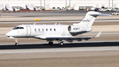 N547XJ - Bombardier BD-100-1A10 Challenger 300 - XOJet