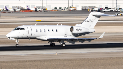 A picture of N547XJ - Bombardier Challenger 300 - Xojet - © David Lee