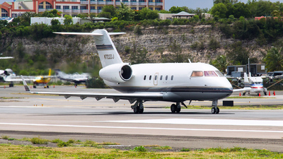 N722DJ - Canadair CL-600-1A11 Challenger 600S - Private