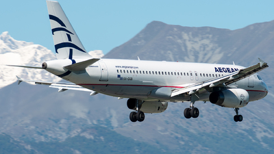A picture of SXDGB - Airbus A320232 - Aegean Airlines - © Alessandro Maggia