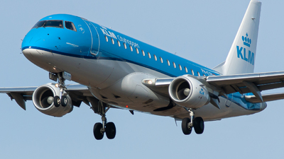A picture of PHEXN - Embraer E175STD - KLM - © William Skoglund