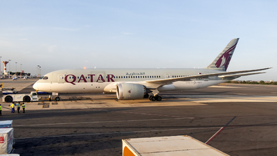 A picture of A7BCR - Boeing 7878 Dreamliner - Qatar Airways - © Jet92